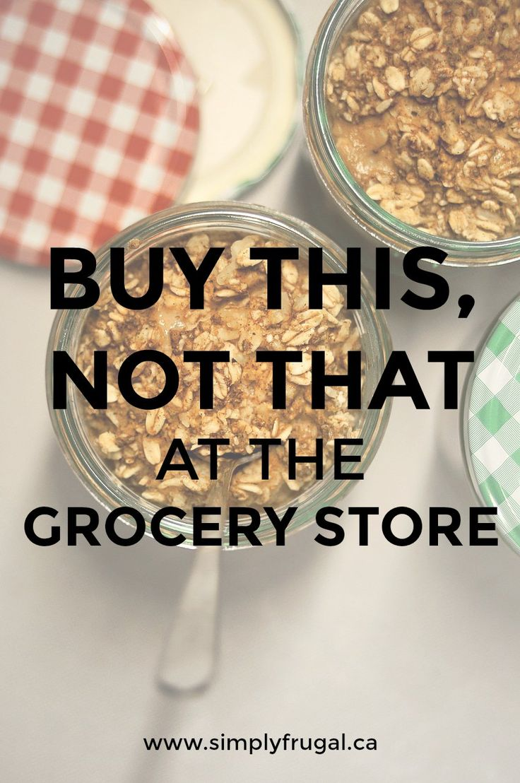 Here are 8 grocery items you can buy to replace their costly, less healthful…