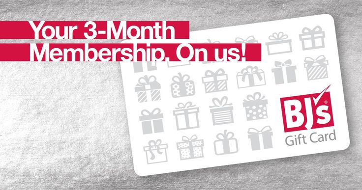 Get a free three-month membership to BJ's Wholesale Club and find great quality, selection and savings this holiday season: www.bjs.com/savings #BJsSmartSaver #Promo
