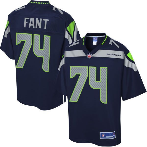 George Fant Seattle Seahawks NFL Pro Line Youth Player Jersey - College Navy - $74.99