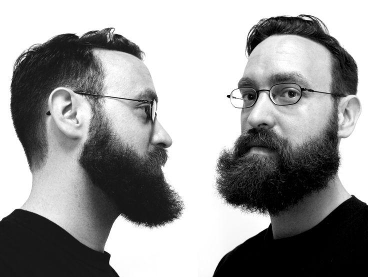 Artist Gareth Bate with a beard. #beard #men http://www.garethbate.com
