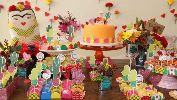 MORRI!!!!! - Festa de 1 ano com tema Frida Kahlo   Baby & Kids   It Mãe