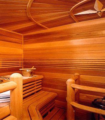 inspiration: sauna design