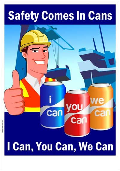 Safety comes in cans