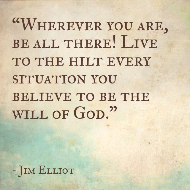 Jim Elliott Missionary Quote
