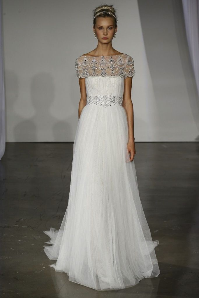 sue wong wedding dressee...very classical & feminine.Just change the color to fit your style