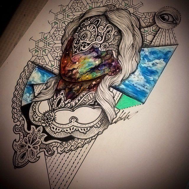 #Broslavskiy #tattoo #space #sketches