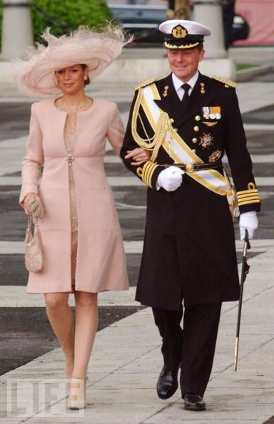 Crown Prince Willem-Alexander and Maxima of Holland