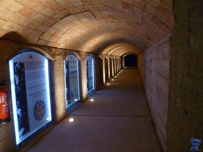 Refugio antiaéreo de la Guerra Civil Barcelona