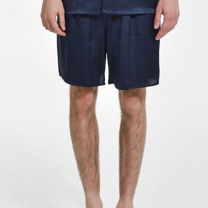 Mens Silk Pajama Shorts Plus Size Sleep Bottoms - OOSilk #silk #sleepwear #nightwear #dressinggown #robe #bathrobe #tops #shorts #pants #trousers #bottoms #pajamas #pjs #set #silky #soft #comfort #breathable #smooth #onlineshopping #women #female #sleep #fashion #womenfashion #ladies #camisole #nightshirt #chemise #nightgown #nightdress #nightie #slip #dress #bedroom