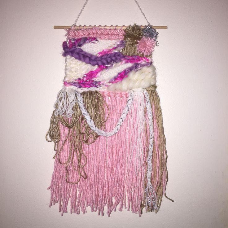 #weave#textiles#weaveloom #weaving #wovenwallhanging