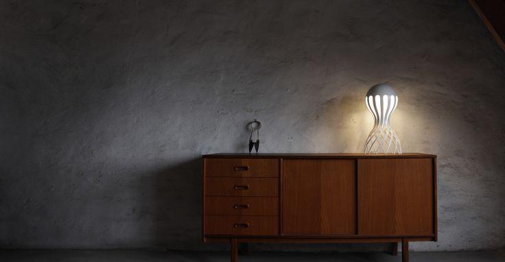 Cirrata lamp by Oblure. Design by Markus Johansson