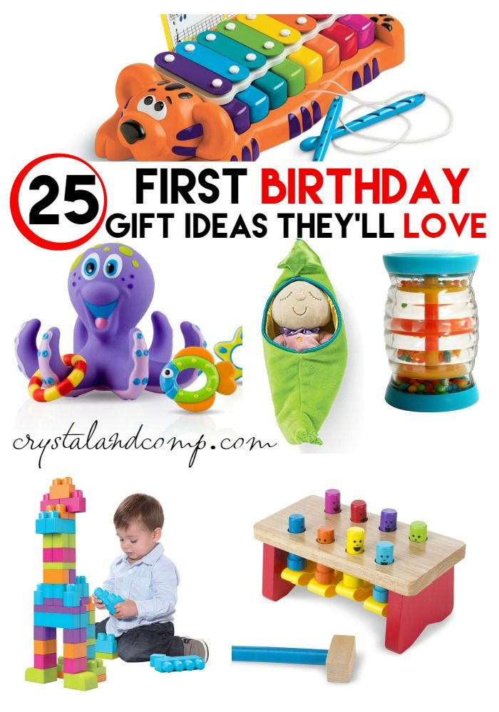 20 Ideas For Baby 1st Birthday Gifts