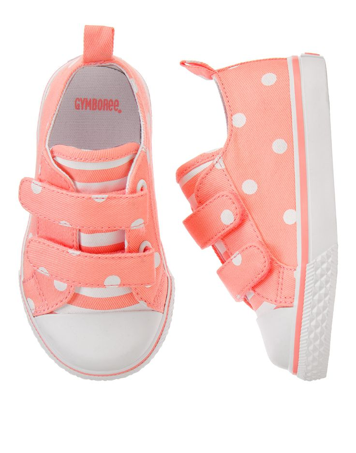 Neon Dot Sneakers at Gymboree (Gymboree 6m-5T)