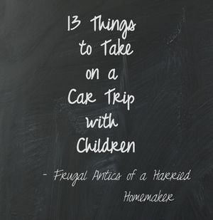 13 Things to Take on a Car Trip with Children {{love #8. A Roll of Quarters – Not only are these good for rewards, you can make a travel scavenger hunt. For instance, the first child to spot a cow gets a quarter.}}