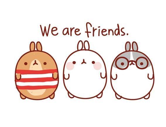 Molang friends #kawaii #cute