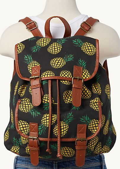image of Pineapple Backpack