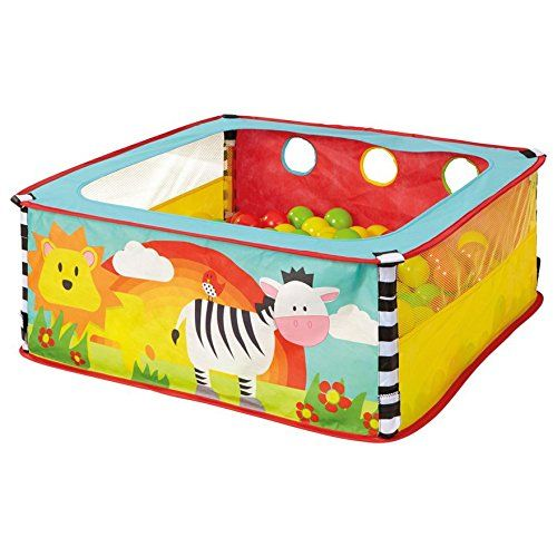 World's Apart A-Zebra Square Sensory Ball Pit: Amazon.co.uk: Toys & Games