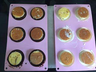 Kiwi Cakes - dome cakes using millionaires caramel from Kiwicakes