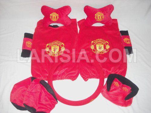 Bantal Mobil 6 in 1 Manchester United terdiri dari: sepasang cover jok kursi (2 pcs), sepasang cover jok kepala (2 pcs), sepasang bantal tulang (2 pcs), sepasang cover safety belt (2 pcs), 1 pcs tempat tissue, 1 pcs cover steer. Kode Barang: 530122MU. Harga: Rp. 189.000,-. Tertarik?  Silahkan order di Toko Online Larisia: http://larisia.com/product/0/9/Bantal-Mobil-6-in-1-Manchester-United - Ada pertanyaan?  Silahkan hubungi kami: http://larisia.com/contactus.php