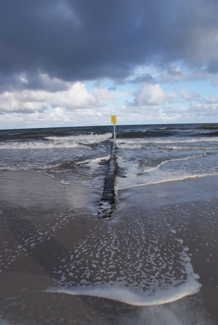 kołobrzeskie morze
