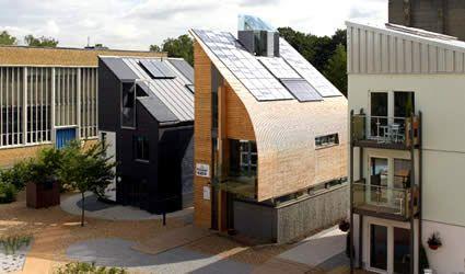 Architettura sostenibile: Lighthouse la Casa Passiva inglese a Zero Emissioni di CO2. Anche il Regno Unito ormai verso un'architettura energicamente passiva e sostenibile