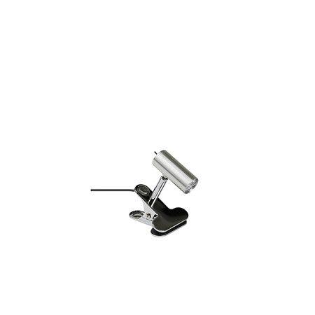 S 6757 D-33 Mini LED Klämspot Aluminium