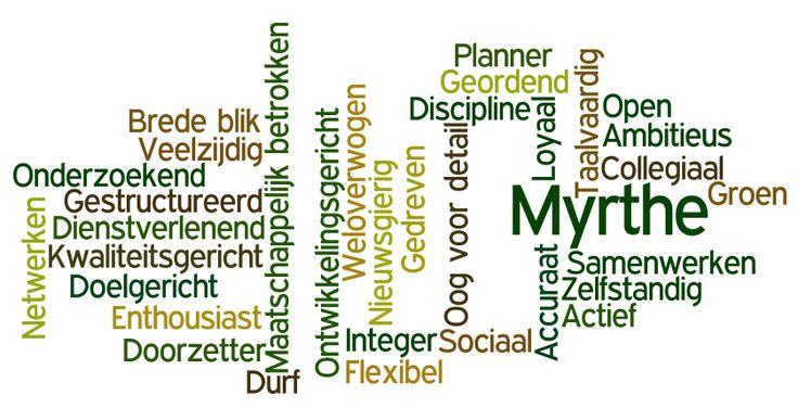 Dit is Myrthe