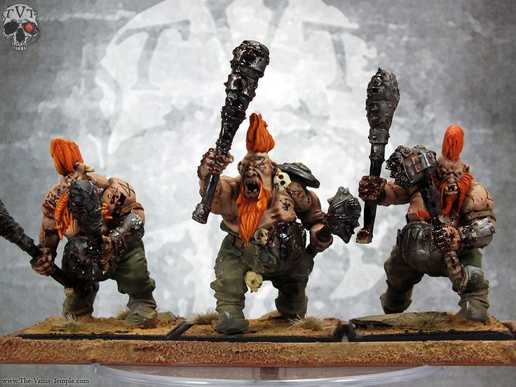 OGRES: Dwarf Slayer Maneater Conversions Complete