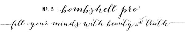 5 favorite cursive fonts with glyphs {and how to use them}