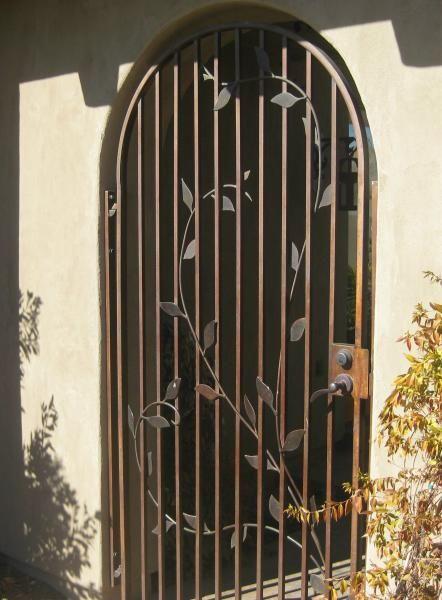 Wrought Iron Courtyard Gates Wrought Iron Fencing Iron