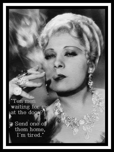 mae west and 1930s censorship Hollywood censored examines how hundreds of films - mae west comedies, serious dramas, and films with a social message - were censored and often edited to promote a conservative political agenda during the golden era of studio production in the 1930s.