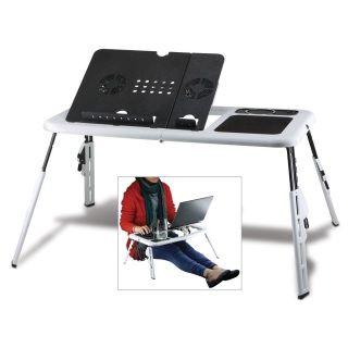Laptop Desk Table Folding Portable Workstation Mobile For Sofa