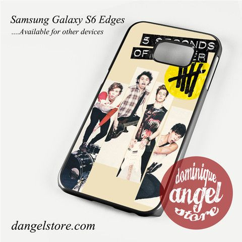 5seconds of summer music band Phone Case for Samsung Galaxy S3/S4/S5/S6/S6 Edge