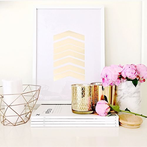 Snippet of golden goodness! #shopsavvy #therejectshop #homewares #budgetmakeover #interiordesign