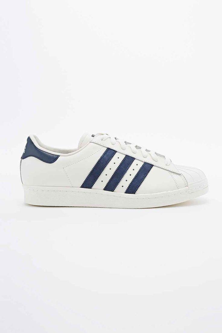adidas superstar bleu blanche