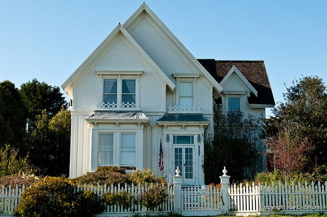 Jessica Fletcher's House Murder She Wrote (Angela Lansbury) [House of actually Blair House, a bed & breakfast in Mendocino, CA]