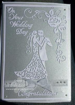 cards using TATTERED LACE COUPLE - Google Search