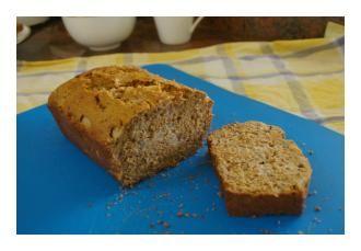 Caramel Pear Bread