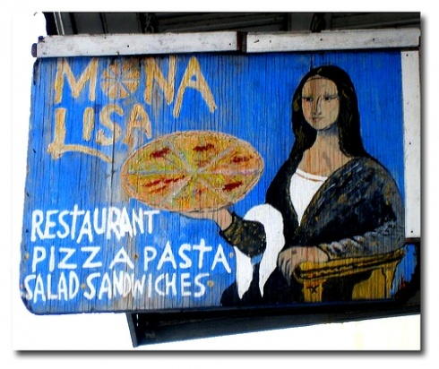 Mona Lisa Restaurant--My most favorite restaurant in New Orleans!  1212 Royal St.  New Orleans, LA 70116