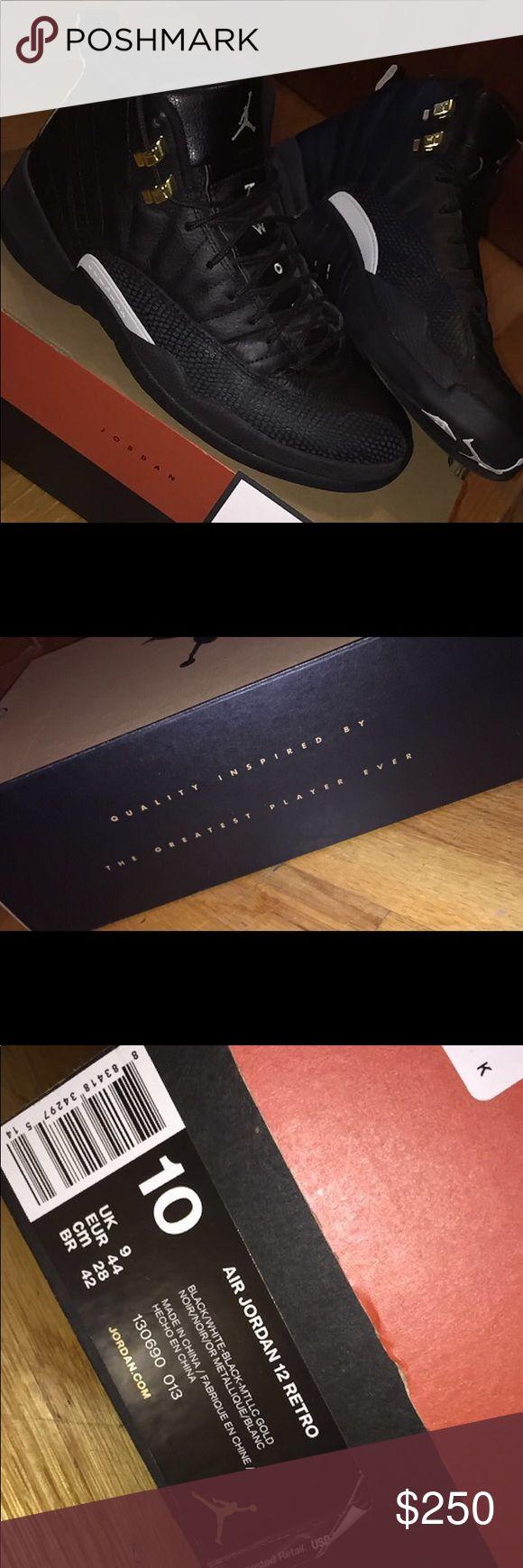 Air jordan master 12's Worn twice! Great condition, authentic. Rare Jordans Lowe price. Jordan Shoes Sneakers