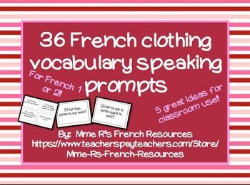 1000 images about french clothing vocab on pinterest for Portent sentence