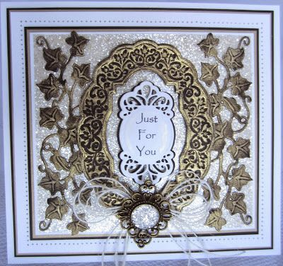 PartiCraft (Participate In Craft): Gilded Ivy - with video tutorial - 19th May 2015