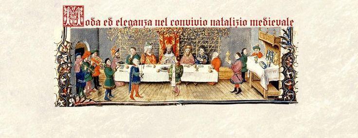 Galleria Medievale: Moda e eleganza nel conviviio natalizio medievale
