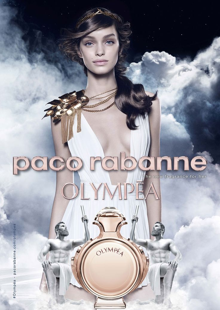 In 2015 a new chapter opens in the Paco Rabanne universe with Olympéa, a modern-day Cleopatra, the woman of all victories. Along her way, certainty and egos are broken, Gods awaken. Victorious and imperial, Olympéa has chosen her hero, the champion Invictus... Her magnetic eyes and her fragrance take us into the wake of her seduction. Her fragrance is a unique olfactory adventure, at the crossroads between the sensuality of salty vanilla accord and the freshness of floral notes.