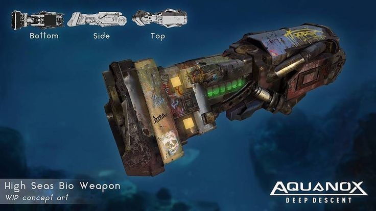 #Aquanox Deep Decent #game #nordicgames #digitalarrow #deepsea #dystopia #firstperson #shooter - in Aquanox DD you'll have 6 distinct primary weapons at your disposal, which can be upgraded and modified. On top of that you have several secondary weapons to refine your tactics.