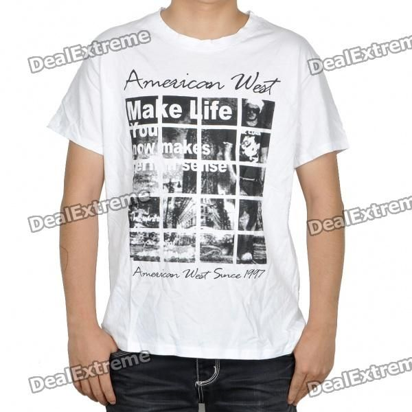 Fashion Cotton Knitted Shirt - White