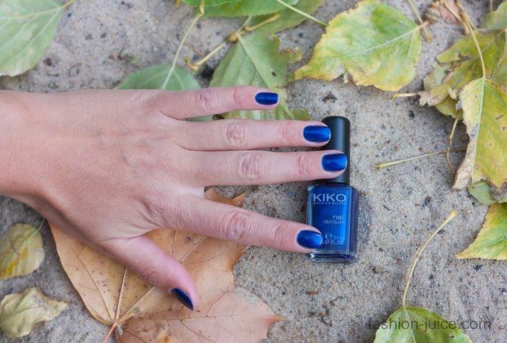 Review & Swatches nailpolish Kiko #266 Ultramarine Blue