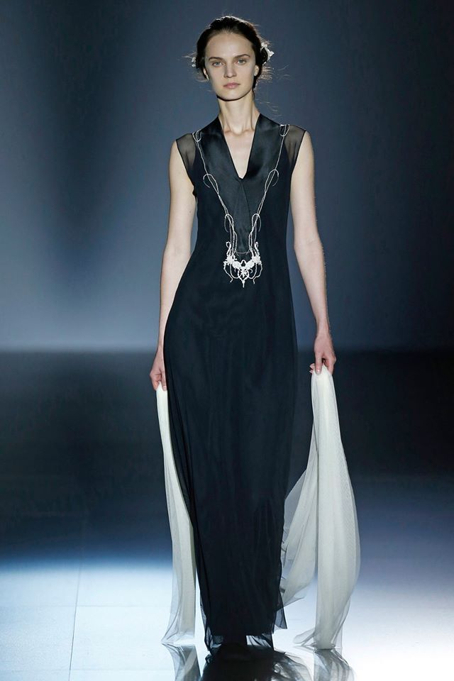 From the Barcelona fashion week defilé
