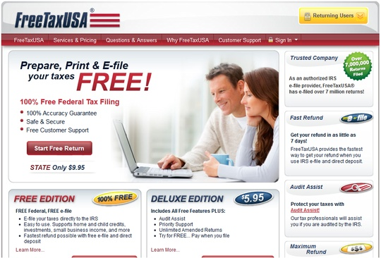 Free Tax USA - Which would you prefer, pay $200 for your taxes to be filed, pay $300 or more for free tax USA companies to file your taxes or pay nothing and do them yourself?