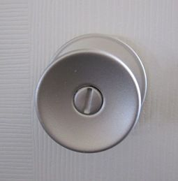 Spray paint all of the brass door knobs in my house! Much cheaper than repalcing each one.